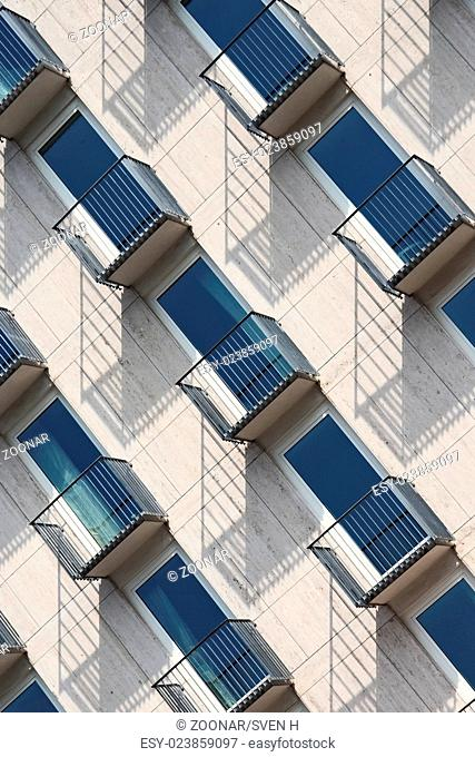 Facade of a hotel