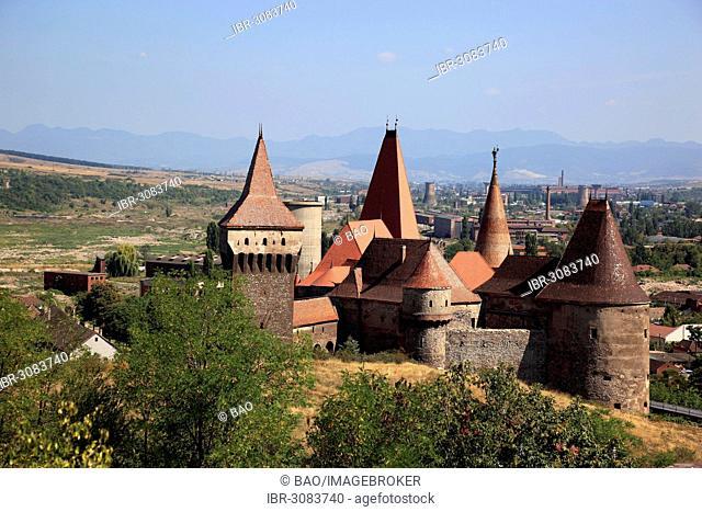 Castelul Huniazilor, Corvin Castle or Hunedoara Castle, Hunedoara, Siebenbürgen, Romania