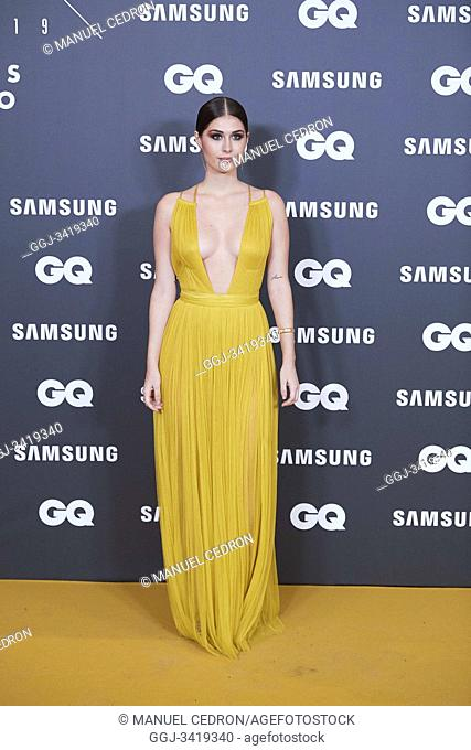 Nerea Camacho attends GQ Men of the Year Awards 2019 at Palace Hotel on November 21, 2019 in Madrid, Spain