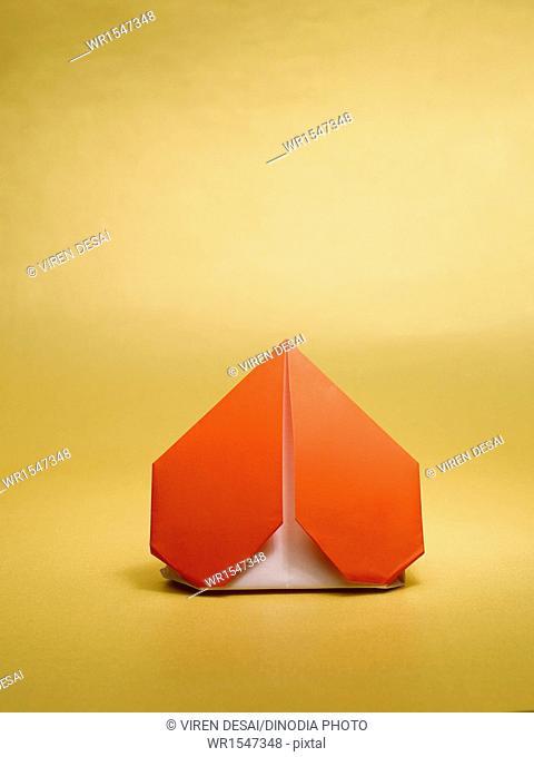 origami heart India Asia