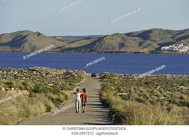 Cape Cavalleria on the North Coast of Menorca, Balearic Islands, Spain, Europe