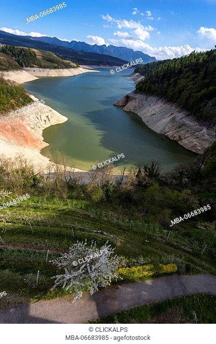 Lake Santa Giustina, Trentino Alto Adige, Italy