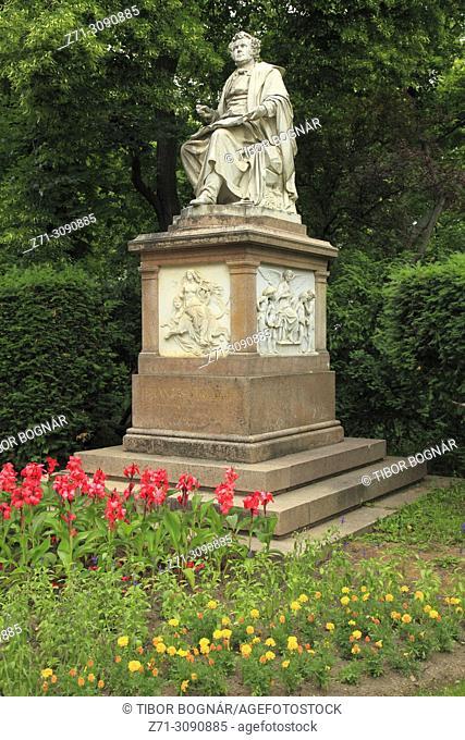 Austria, Vienna, Stadtpark, Franz Schubert, statue,