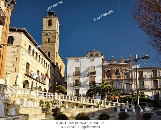 Town Hall in Cazorla. Jaen. Andalucía. Spain. Europe
