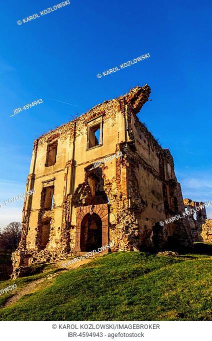 Bodzentyn Castle, Kielce County, Swietokrzyskie Voivodeship, Poland