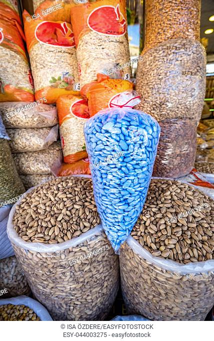 Blue colored diamond for sale,a special traditional sweetness popular in Mardin,Turkey