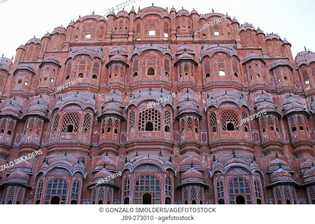 Hawa Mahal (Palace of Winds). Jaipur. India