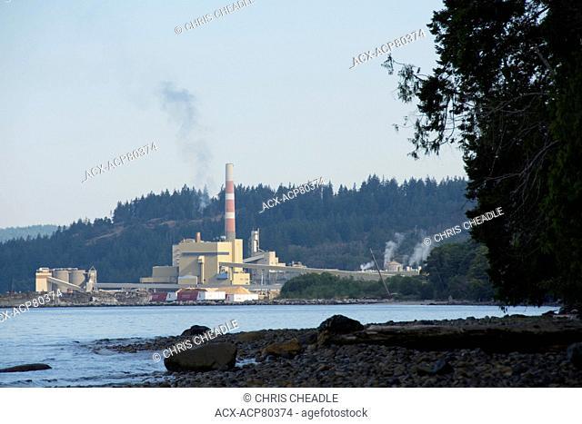 Powell River pulp mill, British Columbia, Canada