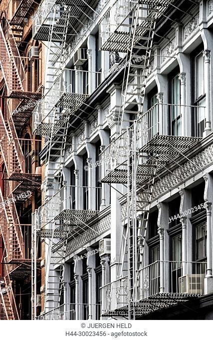 Cast Iron District, Soho, New York