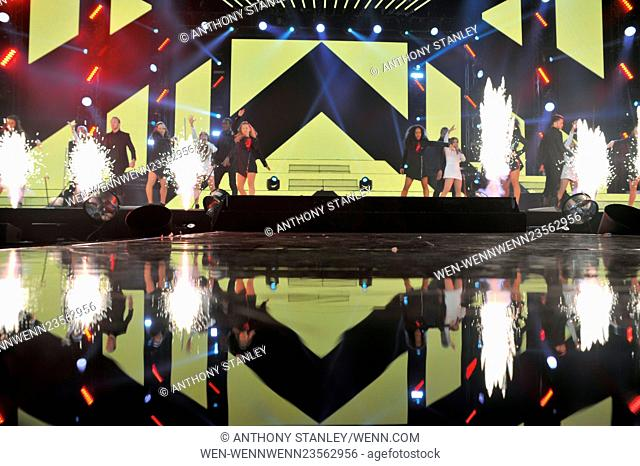 'The X Factor' Live Tour 2016 at the Genting Arena Featuring: 4th Impact Where: Birmingham, United Kingdom When: 27 Feb 2016 Credit: Anthony Stanley/WENN