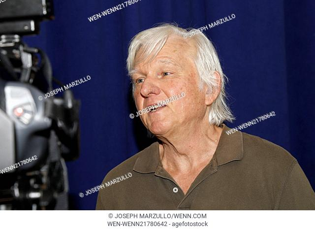 Meet and greet with the New Group production of Sticks and Bones held at the New 42nd St Studios - Arrivals. Featuring: David Rabe Where: New York, New York