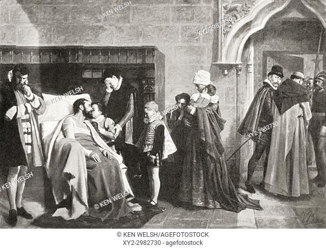 Antonio Pérez, 1540-1611. Spanish statesman, secretary of king Philip II of Spain, said to have organised the murder of Juan de Escobedo