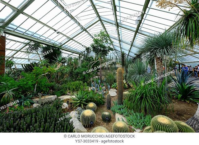 The Princess of Wales Conservatory, Kew Gardens, London, United Kingdom