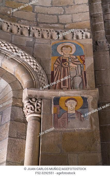 Colegiata de San Martin de Elines, San Martin de Elines, Valderredible Municipality, Comarca Campoo Los Valles, Cantabria, Spain, Europe