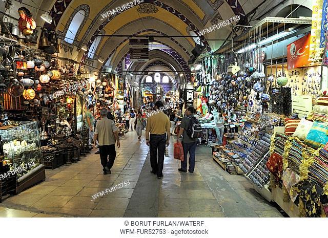 Grand Bazaar Kapali Carsi, Islanbul, Turkey