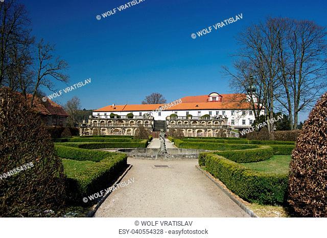 Zakupy Chateau Park, Ceska Lipa District, Liberec Region, Czech Republic