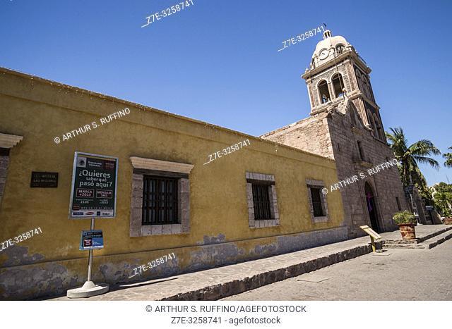 Missions Museum (Museo de las Misiones), Mission of Nuestra Señora de Loreto Conchó (Mission of Our Lady of Loreto). UNESCO World Heritage Site