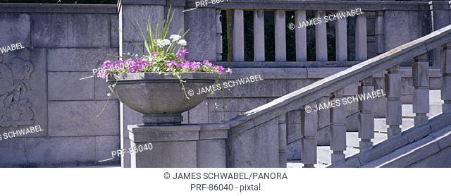Garden Stairs Niagara Parks Botanical Gardens Ontario Canada