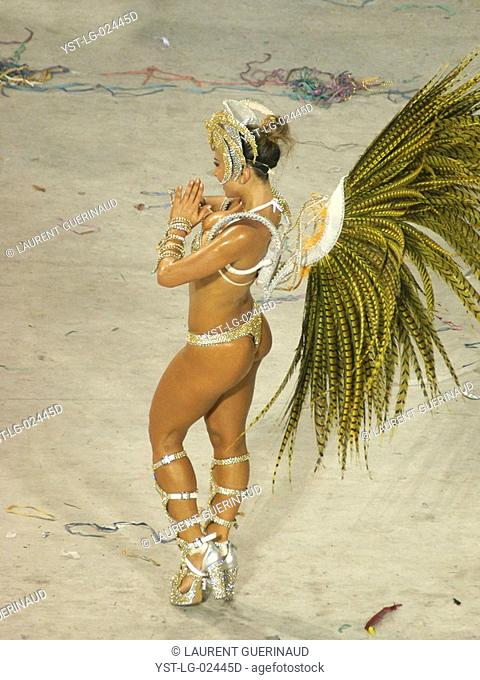 Sabrina Sato, Carnival 2009, School of Samba Salgueiro, Champion, Rio de Janeiro, Brazil