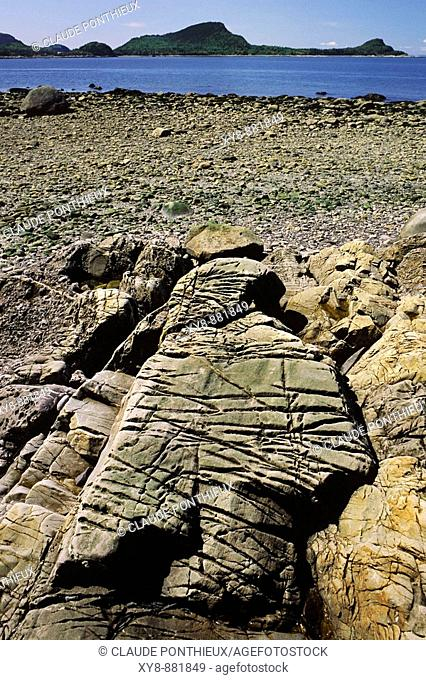 Rock-erosion