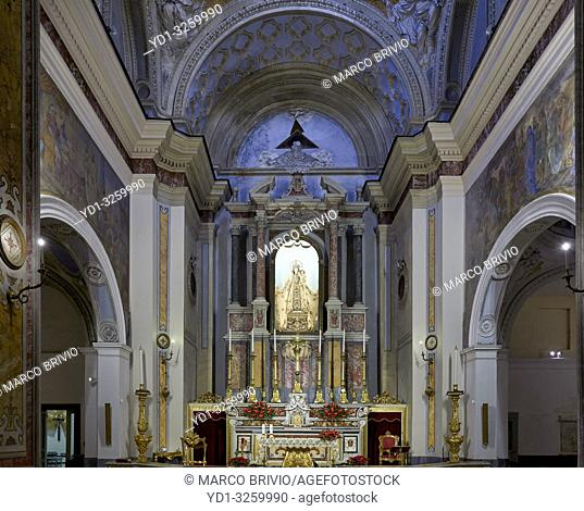 Naples Campania Italy. Parrocchia Santa Maria della Mercede in Via Chiaia