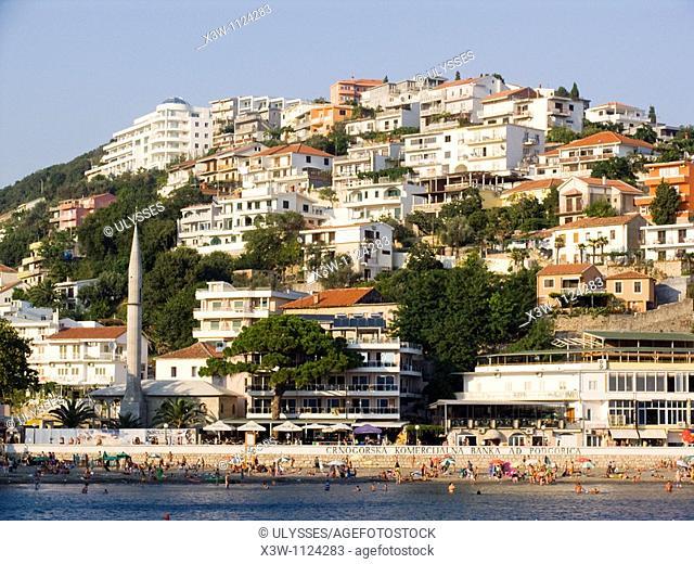 europe, montenegro, ulcinj, beach