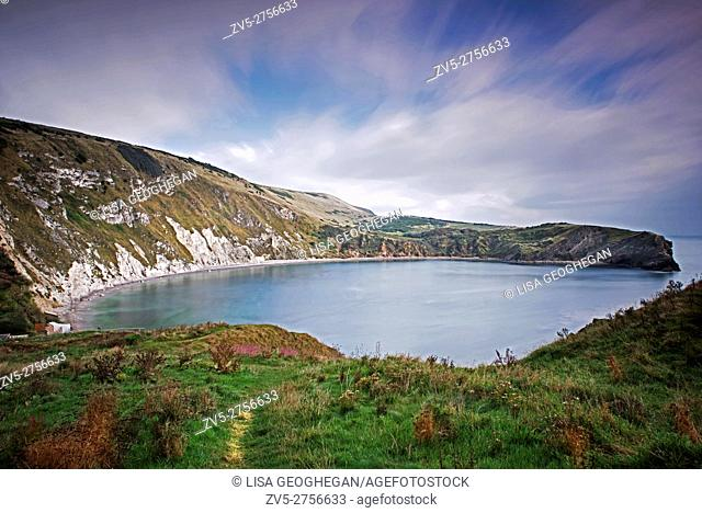 Lulworth Cove, West Lulworth, Dorset England, Uk, Gb