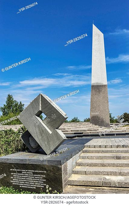 The sundial calendar was built in 1995. It is located on the Parnidis dune in Nida. Nida (Nidden) is a village on the Curonian Spit to the Baltic Sea