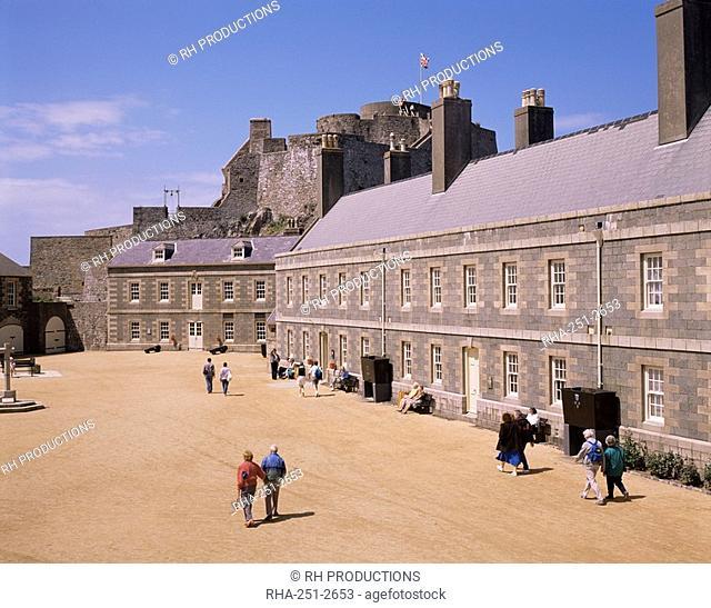 Elizabeth Castle, Jersey, Channel Islands, United Kingdom, Europe