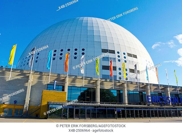 Globen, Ericsson Globe, sports and events hall, Johanneshov district, Stockholm, Sweden