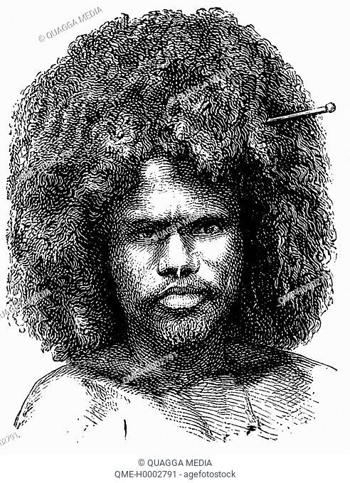 Portrait of a Papuan