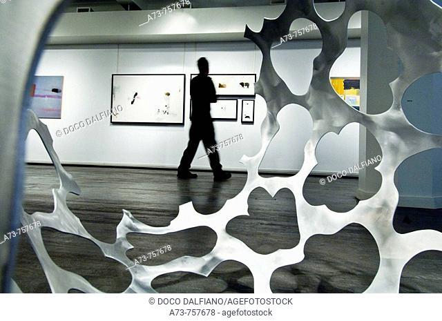 Orange art gallery, Montreal. Quebec, Canada