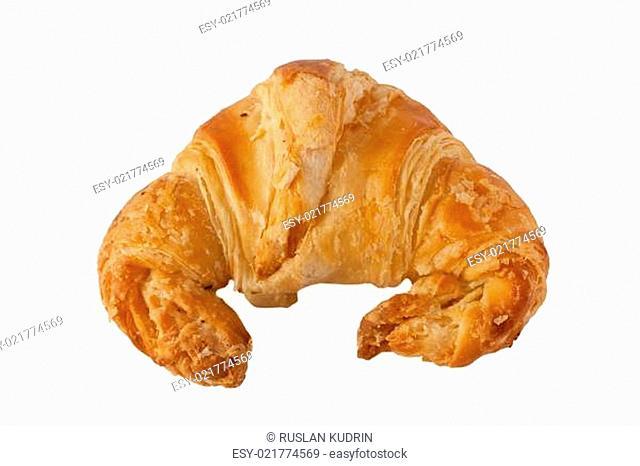 delicious, fresh croissant