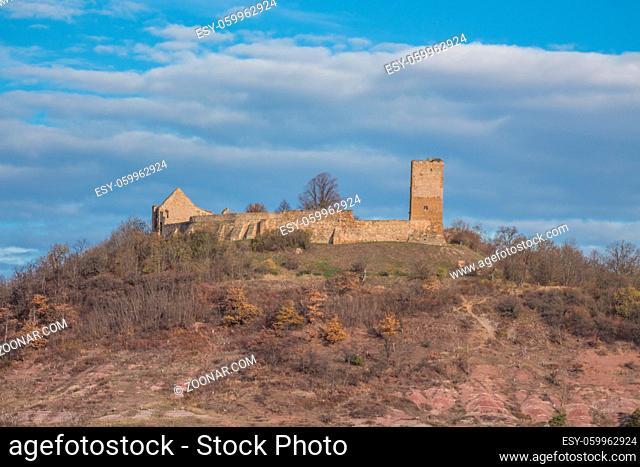 Burg Gleichen im Herbst