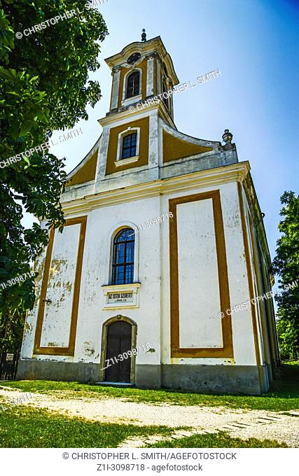 The Reformed Russian Orthodox Church in the village of Polgadi in Hungary
