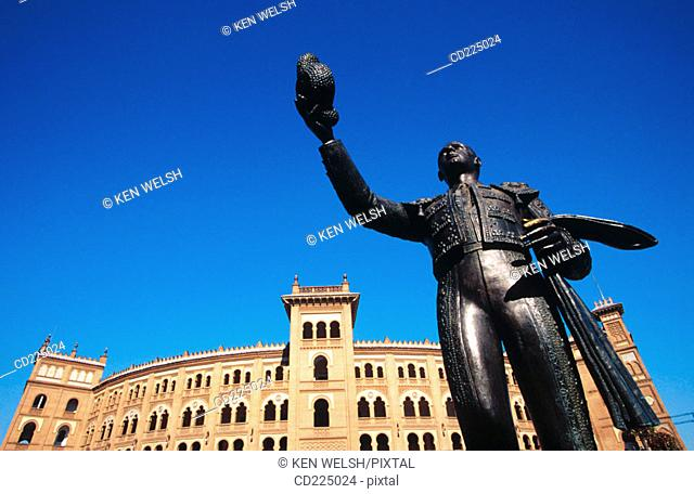 Las Ventas bullring. Madrid. Spain