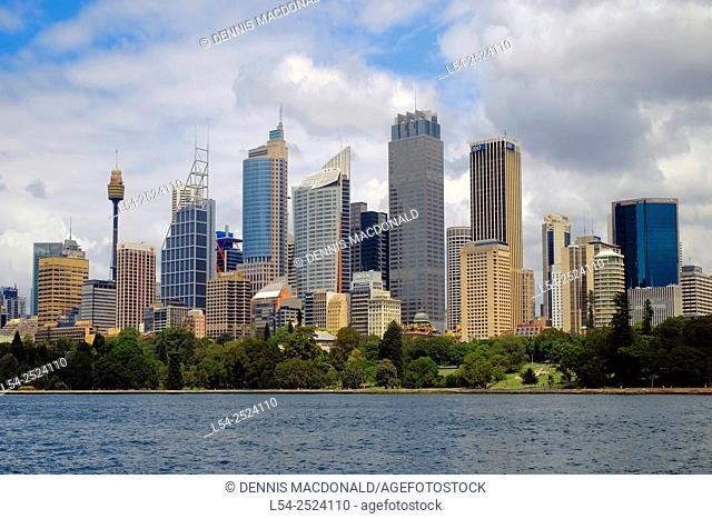 Sydney Australia Skyline New South Wales AU