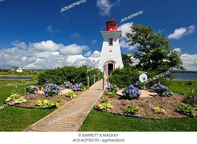 Lighthouse, Victoria, Prince Edward Island, Canada