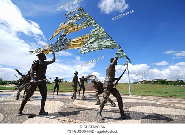 Square, Memorial 18 do Forte, Palmas, Tocantins, Brazil