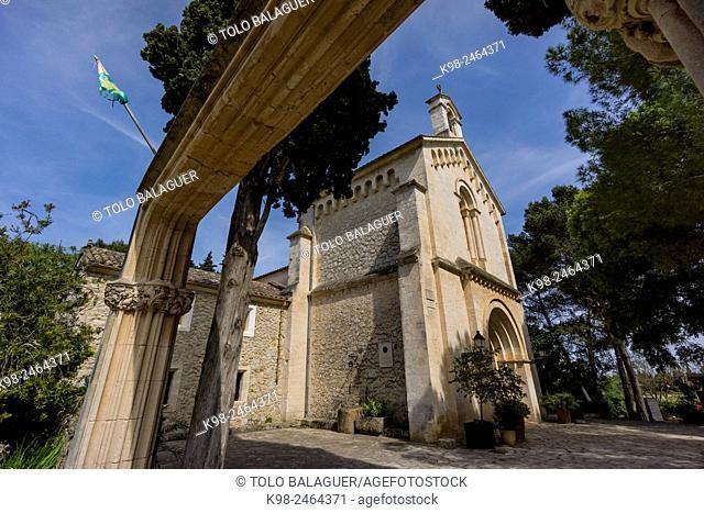Oratori de Crestatx, Siglo XIII, Sa Pobla, ruta cultural de los santuarios, ermitas y oratorios de Majorca, Balearic Islands, Spain