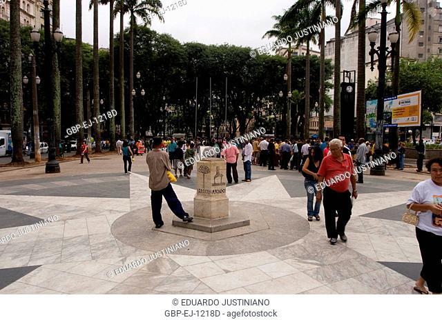 Marco Zero, Sé Square, São Paulo, Brazil
