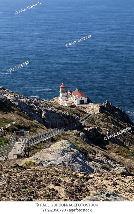 Point Reyes Lighthouse on Point Reyes National Seashore - Marin County, California, USA