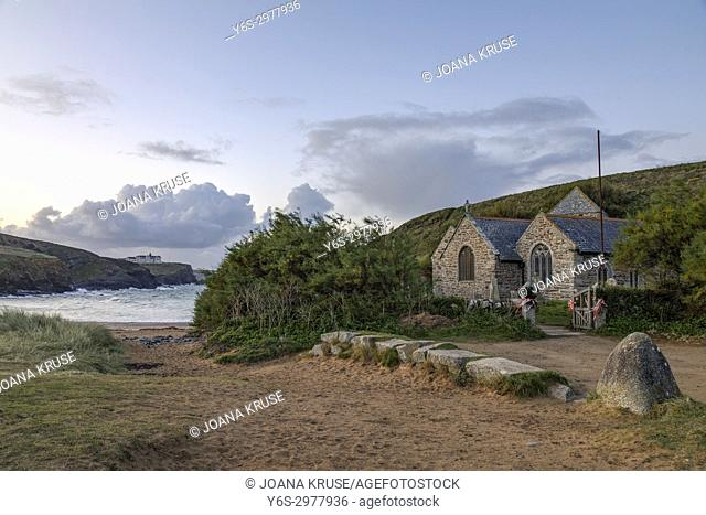 Gunwalloe Church Cove, Cornwall, United Kingdom
