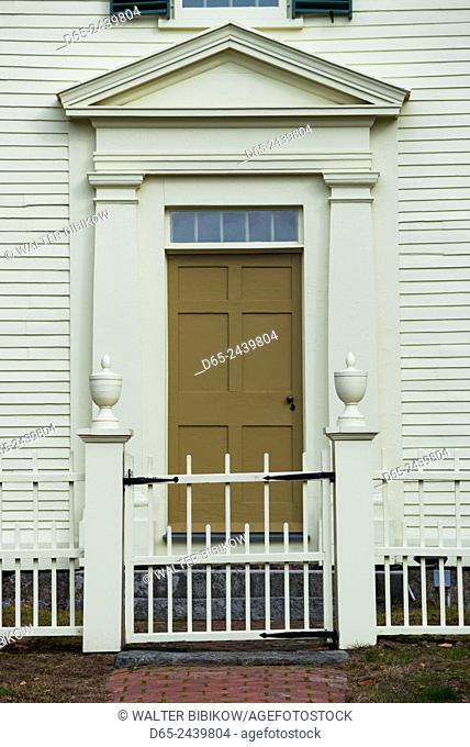 USA, New Hampshire, Hillsborough, Pierce Homestead, former home of 14th US President, Franklin Pierce