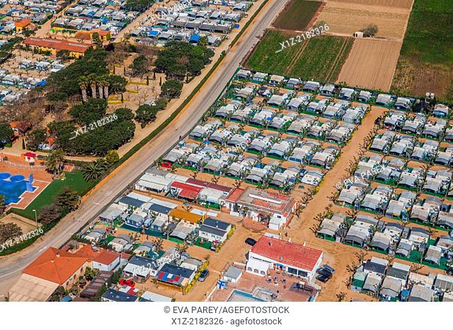 Camping el Pins and Camping Blaumar in Malgrat de Mar
