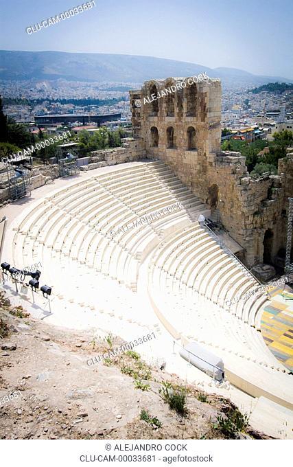 Odeon of Herod Attic, Acropolis, Athens, Greece, Western Europe