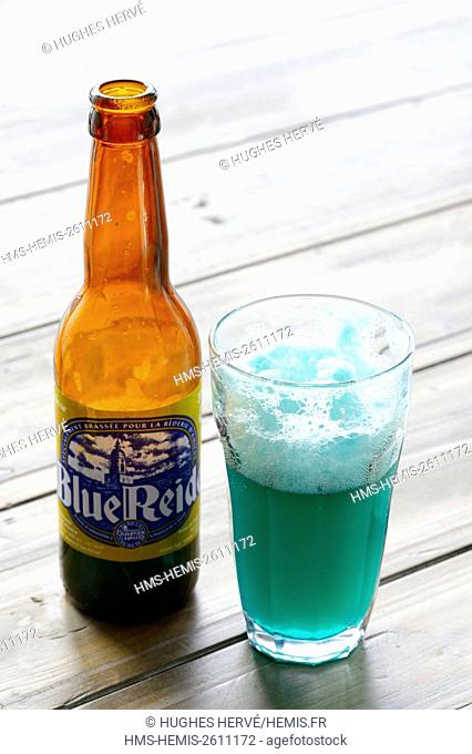 France, Somme, Amiens, Blue Reide, blue bier