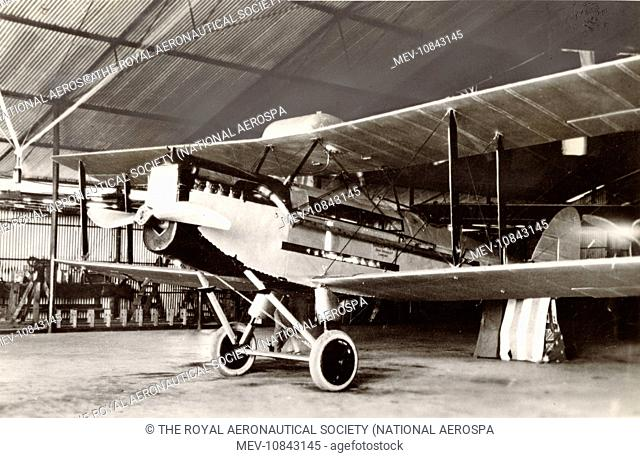 The first of four de Havilland DH50s constructed by QANTAS at Longreach. This aircraft was completed on 8 August 1926