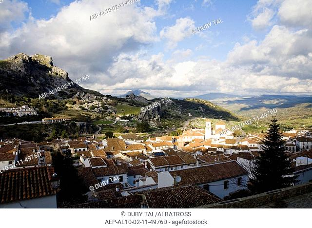 Photograph of the country side of Andalusia Spain