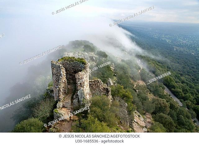 Landscape of Monfragüe National Park  Cáceres province  Extremadura  Spain